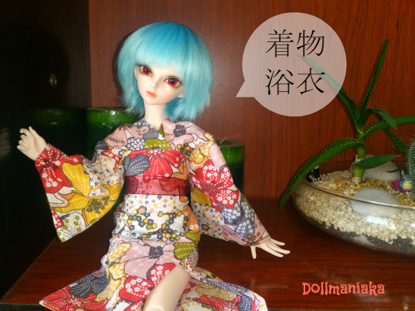 hacer kimono o yukata a bjd