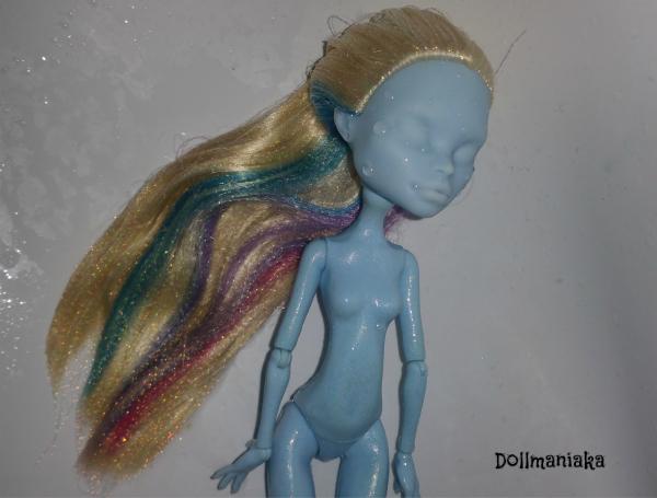 arreglar pelo muñeca