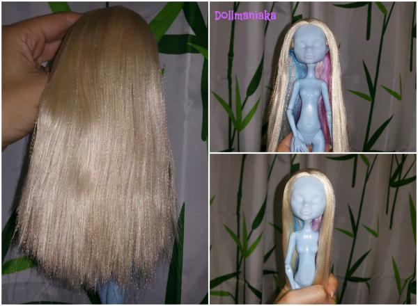 arreglar pelo muñeca bjd