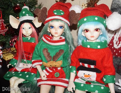 ¡Feliz Navidad y Felices Fiestas Dollmaniak@s!