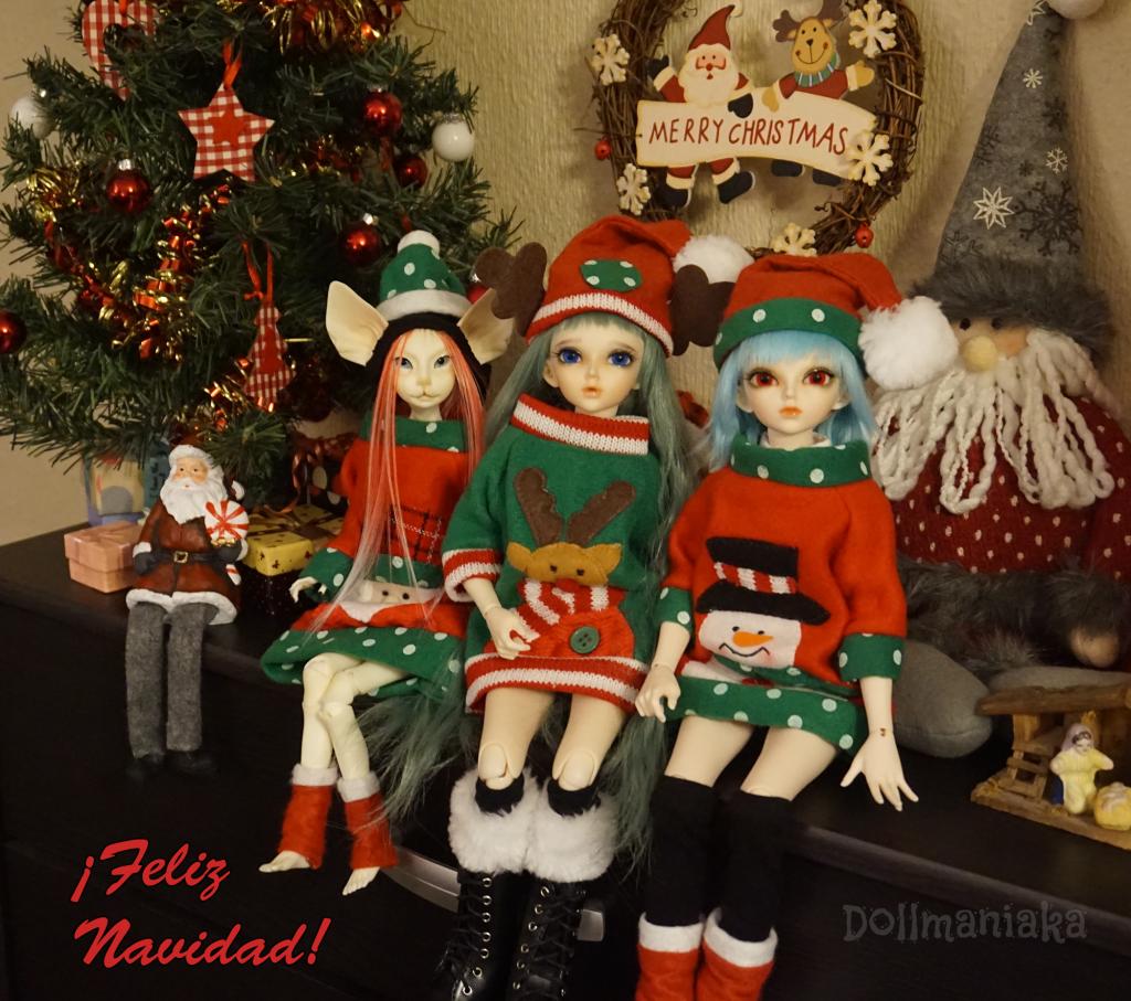 Feliz Navidad Dollmaniaka Christmas