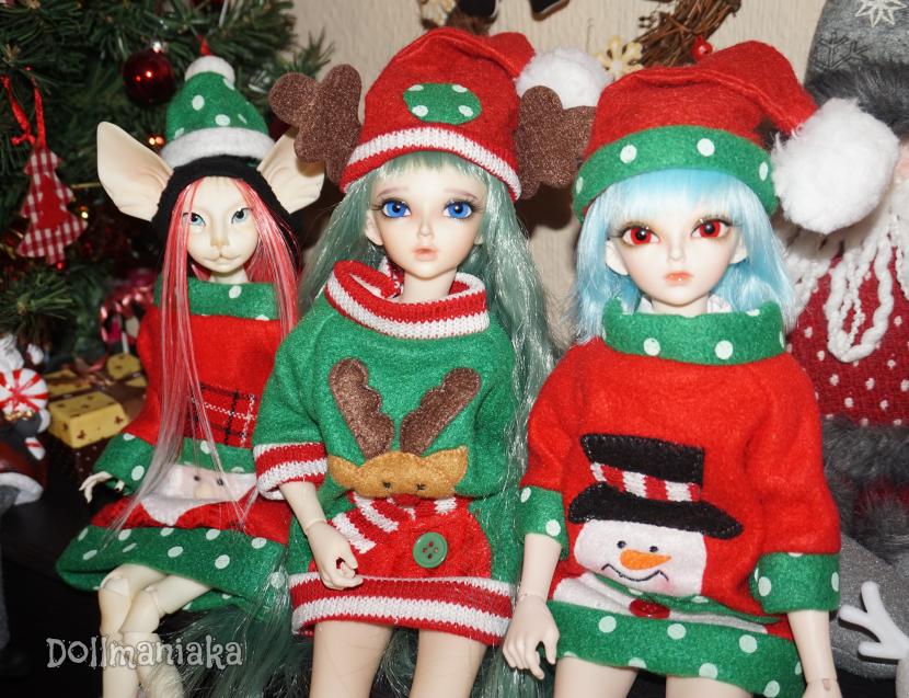 Navidad Xmas Dollmaniaka