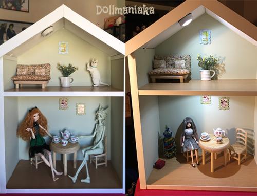 Cómo hacer una casa de muñecas fácil