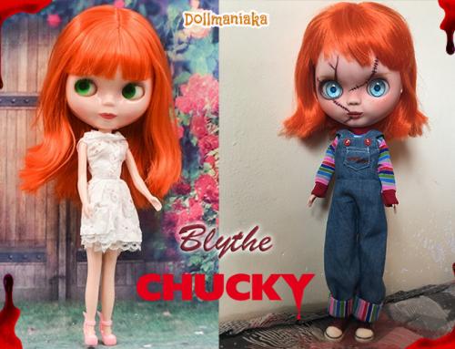 Chucky Blythe custom repaint