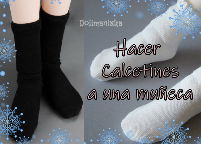 hacer calcetines muñeca